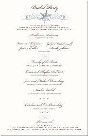 winter theme wedding program snowflake church directory
