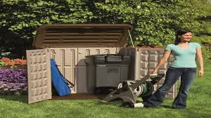 Suncast Resin Glidetop Outdoor Storage Shed by Suncast Bms3200 Horizontal Storage Shed Youtube