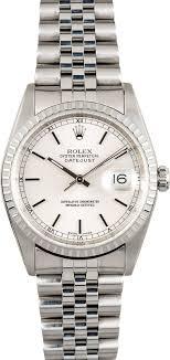 silver rolex bracelet images Rolex datejust stainless 16220 jubilee bracelet jpg