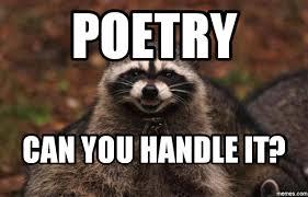 Poetry Meme - poetry lessons tes teach