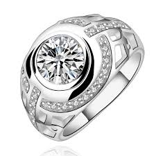 aliexpress buy new arrival fashion rings for men sterling silver jewelry silver plated sted 925 small big