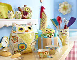 owl canisters for the kitchen unique trendy owl kitchen decor