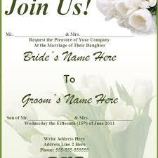 wedding invitations free samples dancemomsinfo com