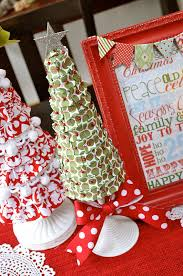 foam christmas tree tutorial ribbon covered little birdie secrets