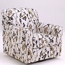 Swivel Arm Chairs Living Room Sophisticated Charming Swivel Accent Chair With Mykla Shitake At