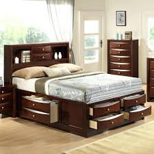 Bookshelf Headboard Plans Wood King Bookcase Storage Bed King Size Bookcase Chest Bed King