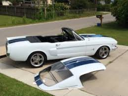 mustang fastback roof 1964 1 2 1966 ford mustang fastback removable fiberglass roof