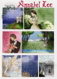 heres page 2 based on edgar allen poe u0027s poem annabel lee the