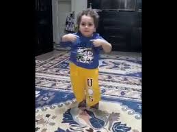 kid celebrates with dance for festival of eid youtube