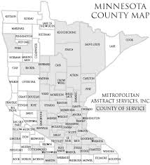 mn counties map title search by minnesota county abstract services county search
