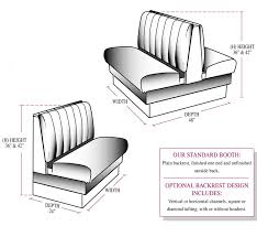 Circular Banquette Sold As Circular Booth Wall Bench U Shaped Banquette
