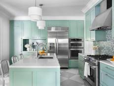 painted kitchen cabinet ideas hgtv