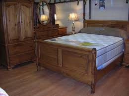 Pine Sleigh Bed Frame Pine Sleigh Bed Home Furniture