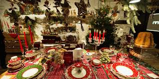 Christmas Table Decorating Ideas 2015 Beautiful White Glass Simple Design Christmas Table Centerpiece