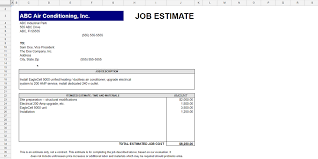 Electrical Estimate Template by Every Free Estimate Template You Need The 14 Best Templates