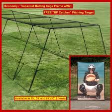 backyard batting cage frame 36 hdpe net