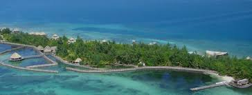 how do you build a caribbean island u2014 thatch caye resort