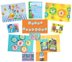 free printable bubble guppies party supplies thepartyanimal blog