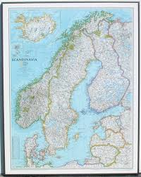 Nat Geo Maps Map Of Scandanavia Overview