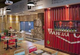decorating shipping container restaurant design plans with small