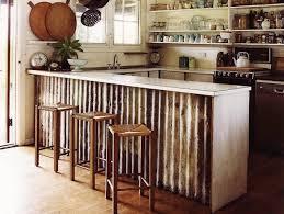 metal kitchen islands corrugated metal diy 5 things you can timber kitchen