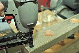 rustic wood centerpiece monthly home depot gift challenge hometalk
