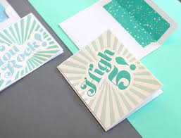 diy letterpress diy letterpress look notecards with the silhouette curio lou