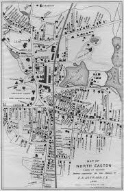Map Of Eastern Massachusetts Usgenweb Easton Ma