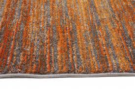 Orange Modern Rugs Hannah 904 Rust Orange Modern Rug Rugtastic