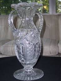 Large Clear Glass Floor Vases Large Glass Floor Vase With Big Mouth Hand Carved Decorative