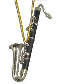 miniature bass clarinet ornament 3 125