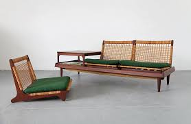 modular teak daybed and table adore modern