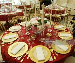 white house staff prepares for state dinner for philippines