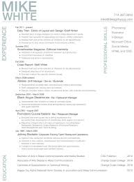 What Does A Resume Look Like What Does A Professional Resume Look Like Resume Example
