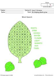 primaryleap co uk helping plants grow word search worksheet