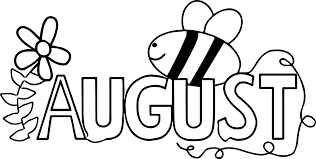 summer august bee coloring page wecoloringpage