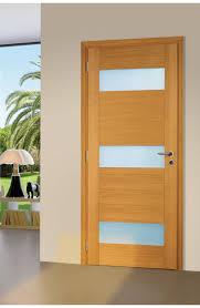 porte interieur en bois massif flat pfc vitree