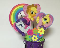 my pony centerpieces my pony centerpieces my pony birthday