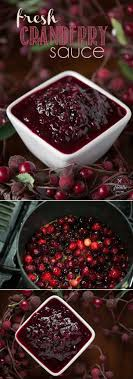 fresh cranberry sauce recipe self proclaimed foodie