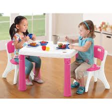 Wayfair Kitchen Sets by Step2 Table And Chairs Set Pink Walmart Com
