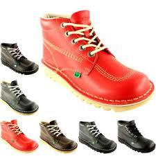 womens kickers boots kickers kick hi leather office work boots
