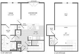 apartments loft floor plans best loft apartment floor plans