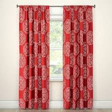 curtain target red curtains jamiafurqan interior accessories