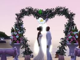 wedding arches in sims 3 the sims 3 images beautiful wedding hd wallpaper and background