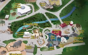 Zoo Map Hogle Zoo Map Illustration Redesign Joshua Design