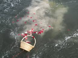 scattering ashes at sea funeral planning scattering ashes