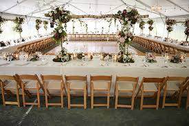 wedding reception tables which wedding reception table style is best for you