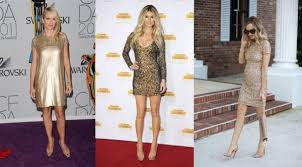 what color shoes to wear with gold sparkly dress style guru
