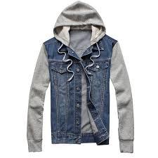 jean and sweatshirt jacket outdoor jacket