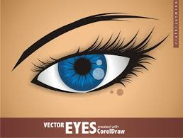 tutorial design logo corel draw x5 vector eyes with coreldraw